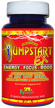 JUMPSTART EX Energy pill & mood enhancer boost