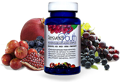 ResveraYouth Resveratrol Superfruits Supplement