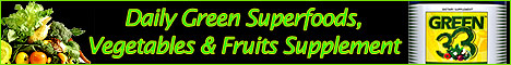 daily green superfood supplement