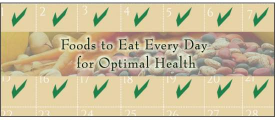 Foods to Eat Every Day for Best Health